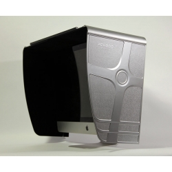 Silver Monitor hood & shield for iMac Series, iMac 27''*