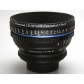 Cine lens Zeiss ZE 50 1.4 manual