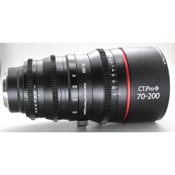 Cine lens Canon 70-200mm/f2.8 manual