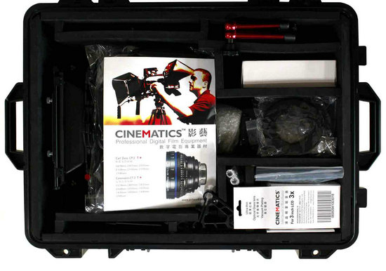 Cinematics Lens Case Water Proof Safety case Airtight ABS Security Lens Case