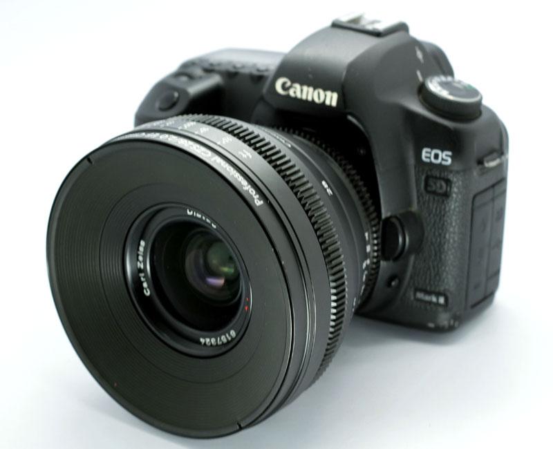 Cine lens Contax CY 28mm/f2 0